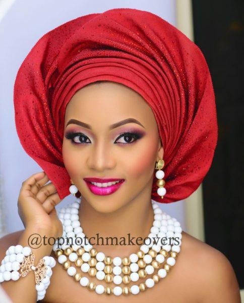BN Bridal Beauty: Gele With A Twist & Bold Bridal Looks