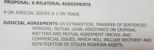 UAE and Nigeria Bilateral-extradition