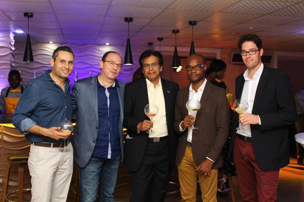 MH Team and Guests during the Veuve Clicquot Rich launch at SIP Lounge