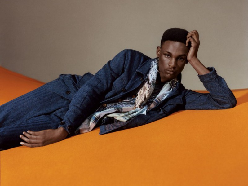 Victor Ndigwe for Missoni Spring Summer 2016 Campaign - BellaNaija - January2016