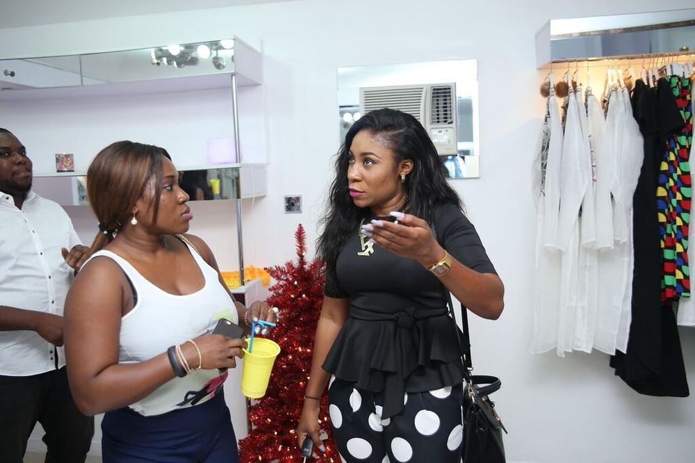 Funke Babs-Kufeji & Kaylah Oniwo