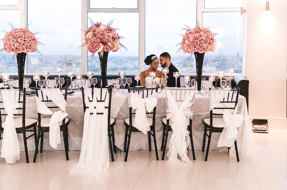 Wedding Photography at Altitude 360 London - Beatrici Photography-60