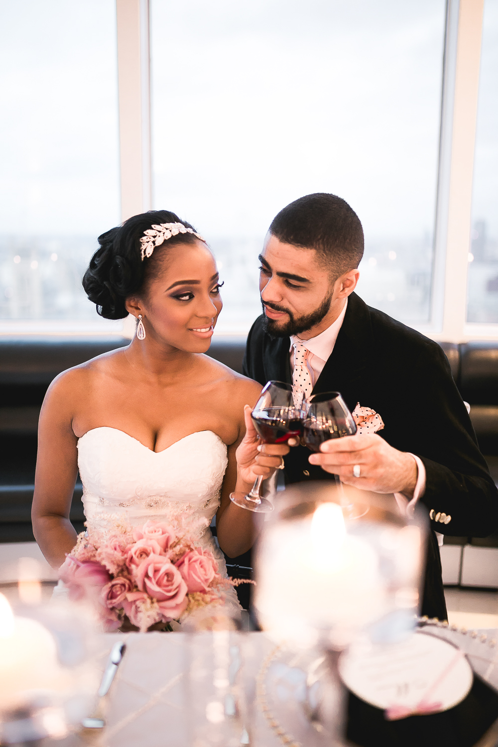 Wedding Photography at Altitude 360 London - Beatrici Photography-64