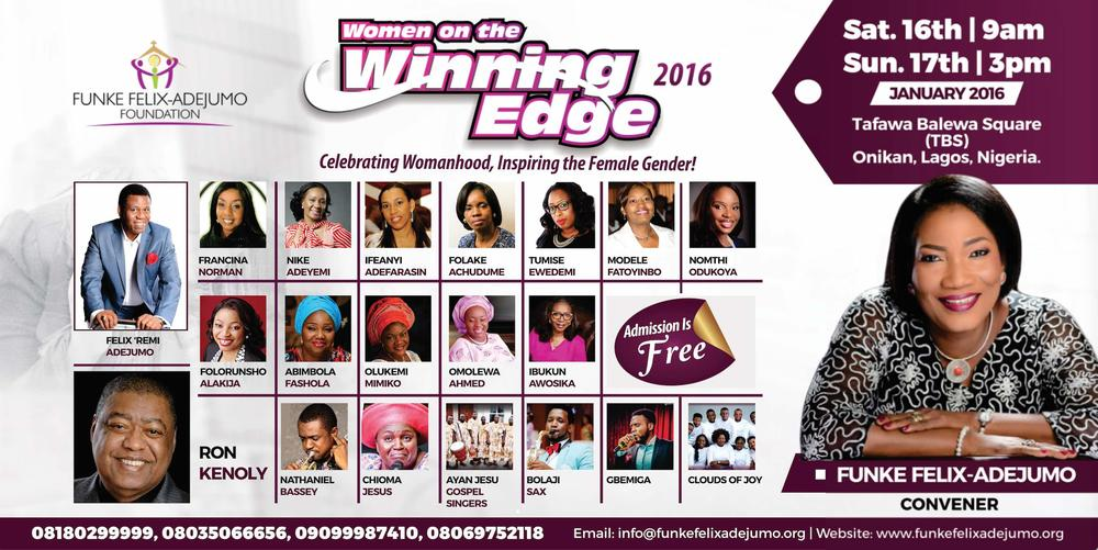 Winning Edge 2016 Funke Felix-Adejumo
