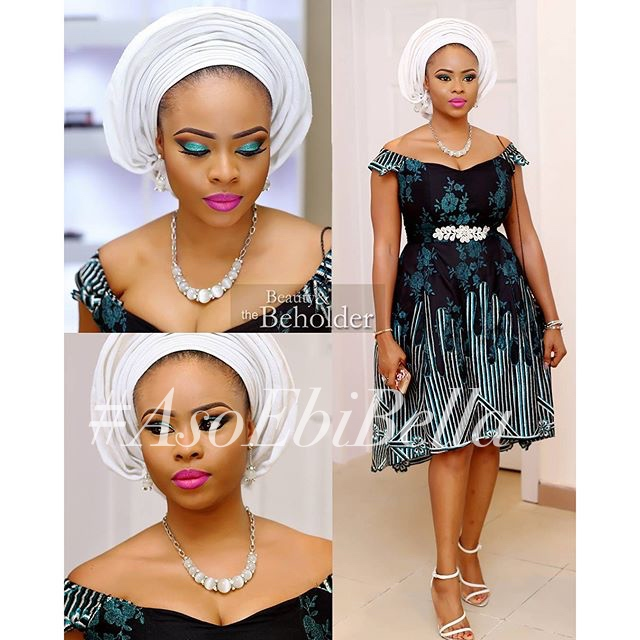 Wura @glitzallure_fabrics_jewellry, makeup by @beautyandthebeholdermakeovers, dress by @fablanebyderin
