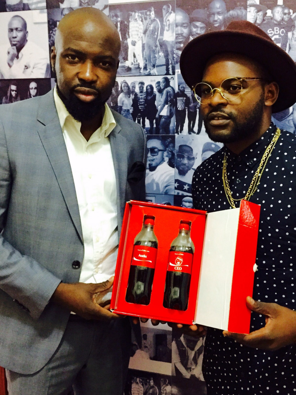 Audu Maikori with Falz