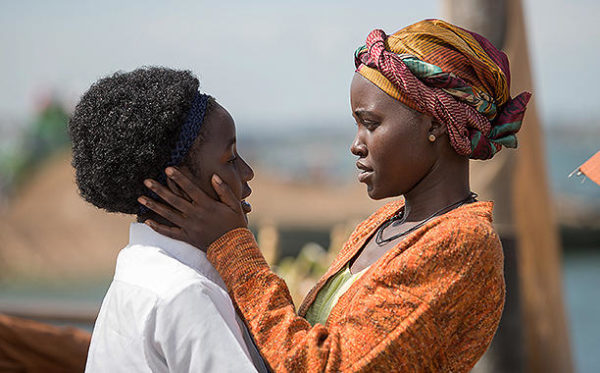 First Look at Lupita Nyong'o and Madina Nalwanga on set