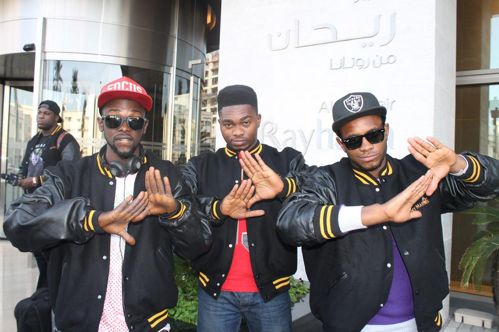 remy martin danceoff winners at AL ghuria hotel