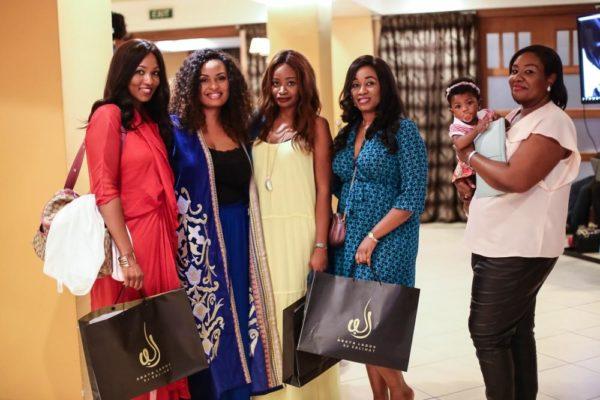 Salihat with Helen Oshinbolu, Ufuoma Odeka, Rotimi Nweze and Ejiro Otubu