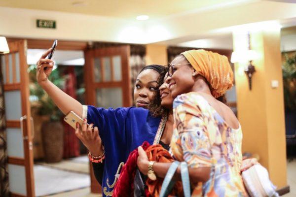 Salihat with with Jasine Tukur and Aisha Augie-Kuta