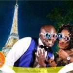 """It Happened In Paris"" by PhotoGenic GreenScreen at My Big Nigeria Wedding Season II (Lagos)"