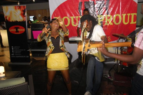 16 Getting hot in her Tomi Odunsi gives an charged set at LoudNProudLive 5th Anniversary Edition tagged Music Reflections & Urban Chic