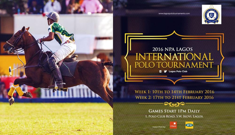2016 NPA Lagos International Polo Tournament - Flyer