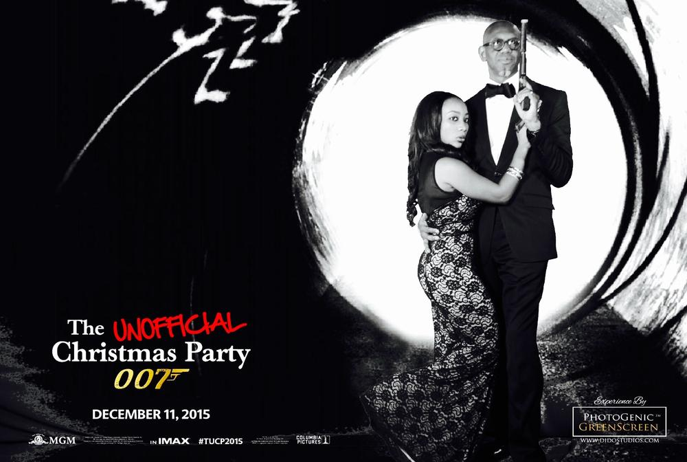 A James Bond Themed Party by No Surprises Event with PhotoGenic GreenScreen Experience