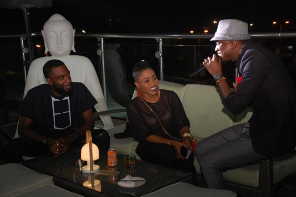 32 TOLU Fame serenades a guest at LoudNProudLive 5th Anniversary tagged Music Reflections & Urban Chic