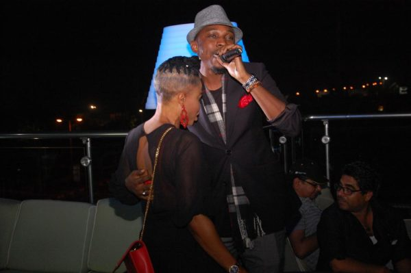 33 The Ladies man Tolu Fame serenades a guest at LoudNProudLive 5th Anniversary tagged Music Reflections & Urban Chic