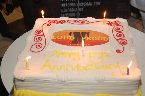 35 LoudNProudLive 5th Anniversary cake at LNPL 5th Birthday Edition tagged Music Reflections & Urban Chic