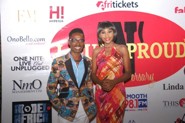 5 MISS Nigeria Lessi Peter Vigboro the Anchor host of LoudNProudLive 5th Anniversary Tagged Music Reflections & Urban Chic