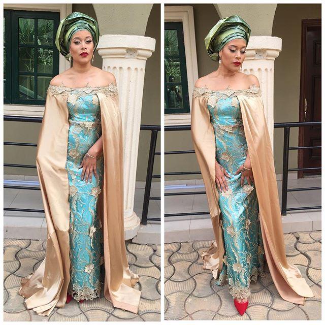 Adunni Ade at Julie Odia and Friday Akpata's Wedding_1