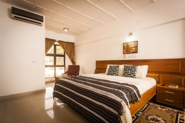 Bedroom at Whispering Palms Resort Badagry