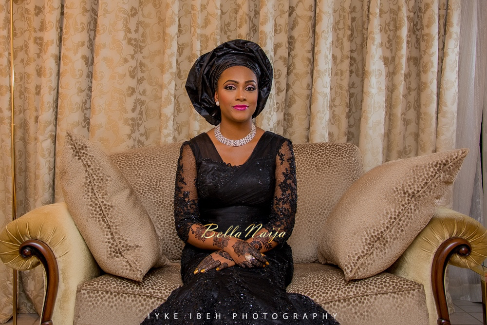 Bride Fatima | Photo by Iyke Ibeh Photography
