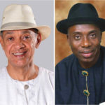 Ben Murray-Bruce and Rotimi Amaechi