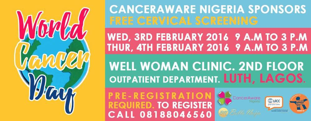 CancerAware Nigeria World Cancer Day Event