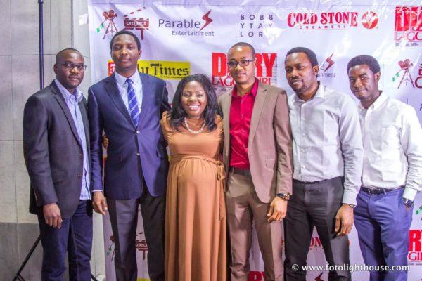 Charles, Niyi, Nike, Obinna, George and Ayo