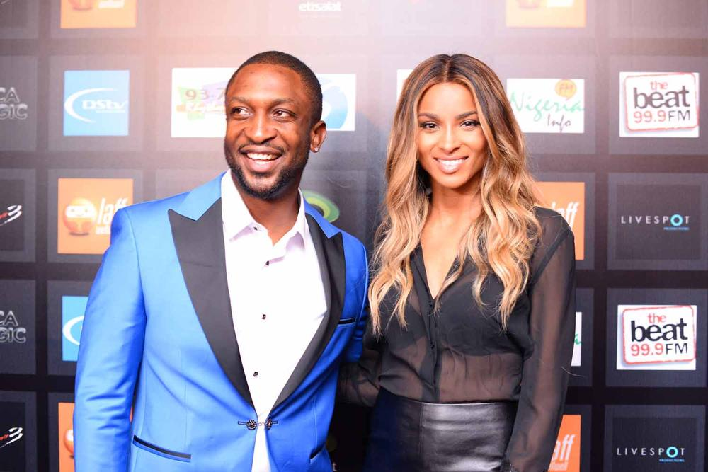 Photos Of Ciara As She Arrives In Lagos For Dareys Love