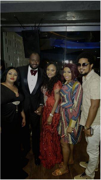 Dayo Amusa, Desmond Elliot, Iyabo Ojo & Doris Simeon