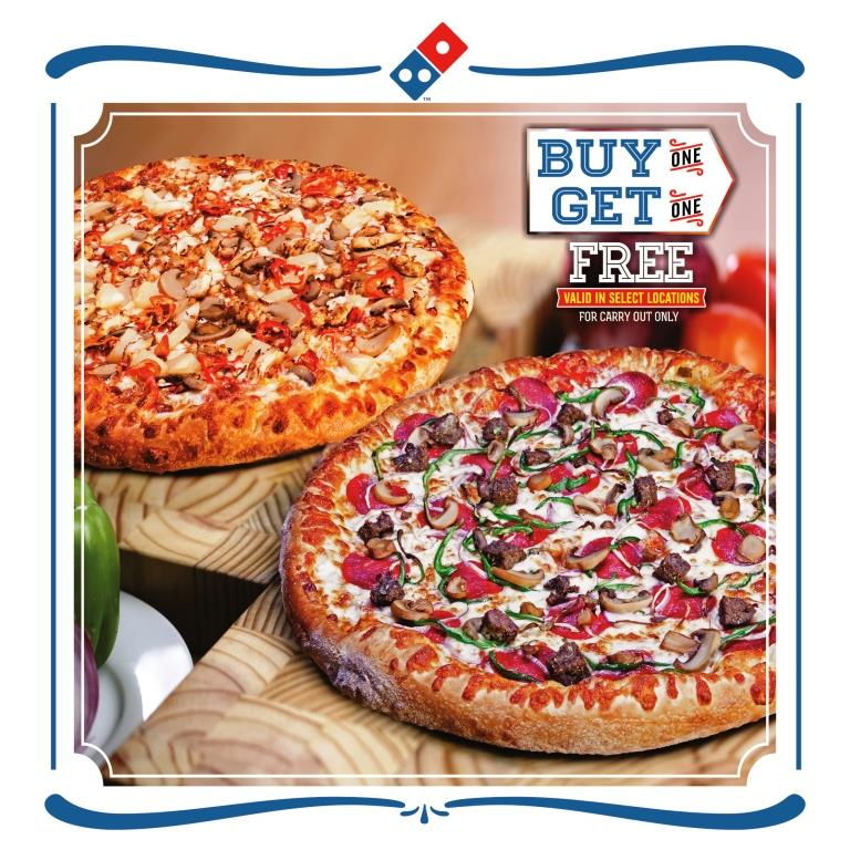 Domino's SALES WEEK ONLINE POSTING DESIGN