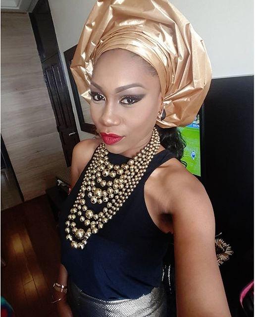 Ebube Nwagbo at Monalisa Chimda's Wedding
