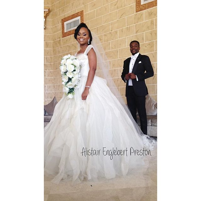 Ebuka & Cynthia Wedding 1st Photo