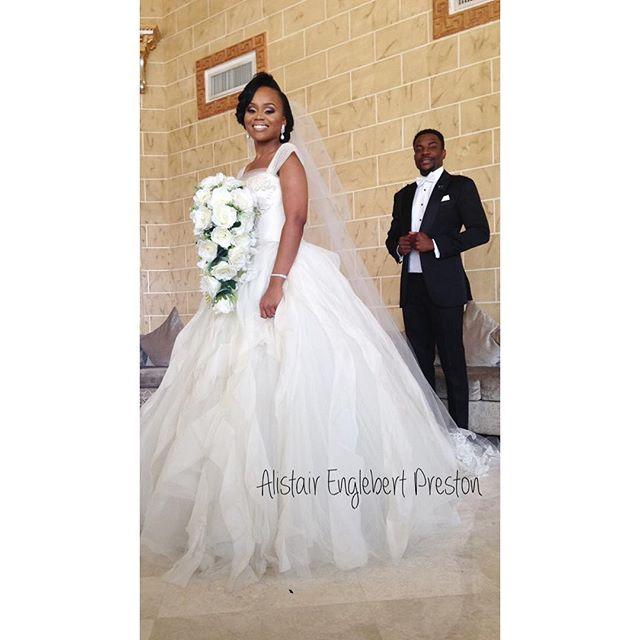 Ebuka & Cynthia Wedding 1st Photo