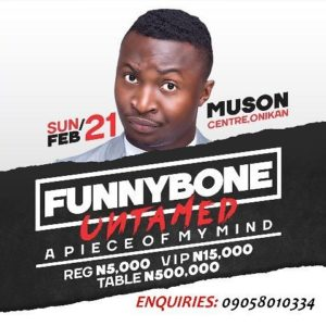 Funny Bone Untamed