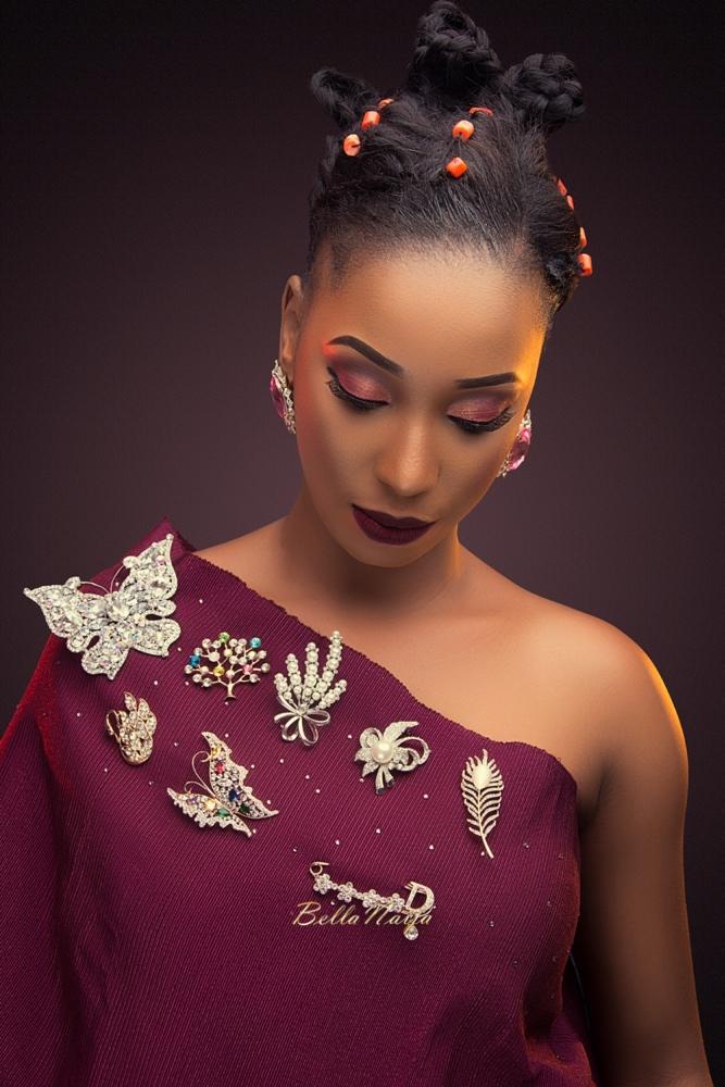 Gbenga Art Smith Beads_Nigerian Weddings_Beauty_BellaNaija 2016_AUNTY ONI-BROOCH 2