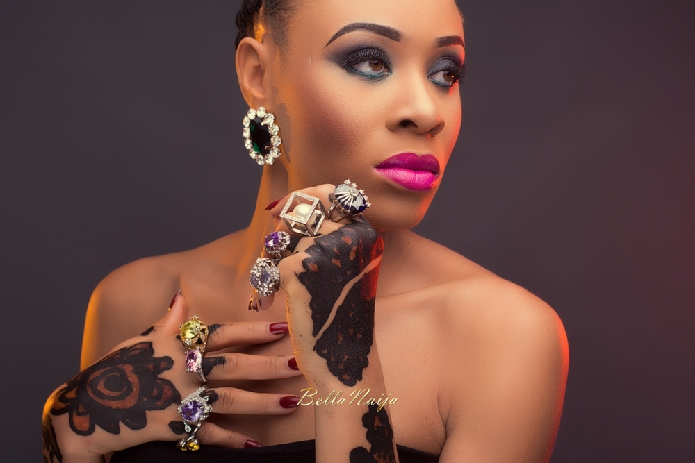 "Gbenga Art Smith Beads_Nigerian Weddings_Beauty_BellaNaija 2016_EKÃ"" YARINYA"