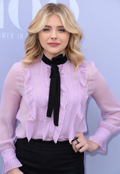 LOS ANGELES, CA - DECEMBER 09: Chloe Grace Moretz arrives at the The Hollywood Reporter's Annual Women In Entertainment Breakfast at Milk Studios on December 9, 2015 in Los Angeles, California. (Photo by Steve Granitz/WireImage)