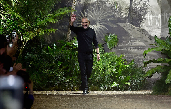 PARIS, FRANCE - JANUARY 27: Elie Saab walks the runway during the Elie Saab Spring Summer 2016 show as part of Paris Fashion Week on January 27, 2016 in Paris, France. (Photo by Pascal Le Segretain/Getty Images)