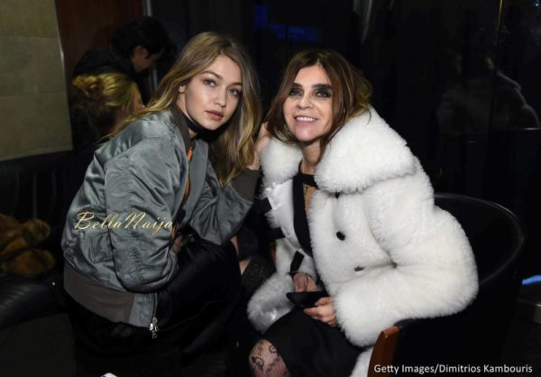 Gigi Hadid & Carine Roitfeld