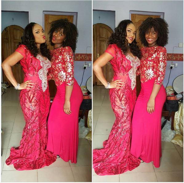 Iyabo Ojo & Daughter