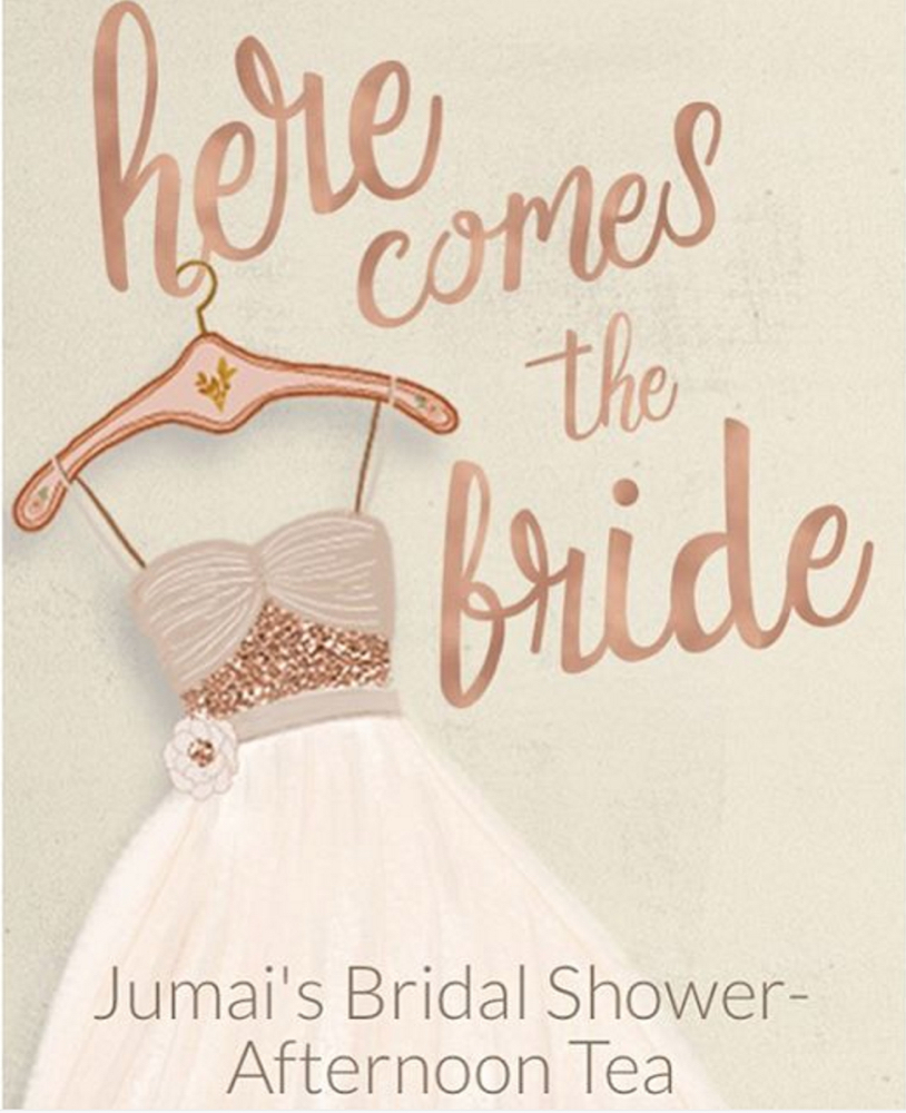 Jumai Shaba bridal shower