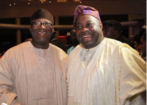 Kayode Fayemi & Dele Momodu