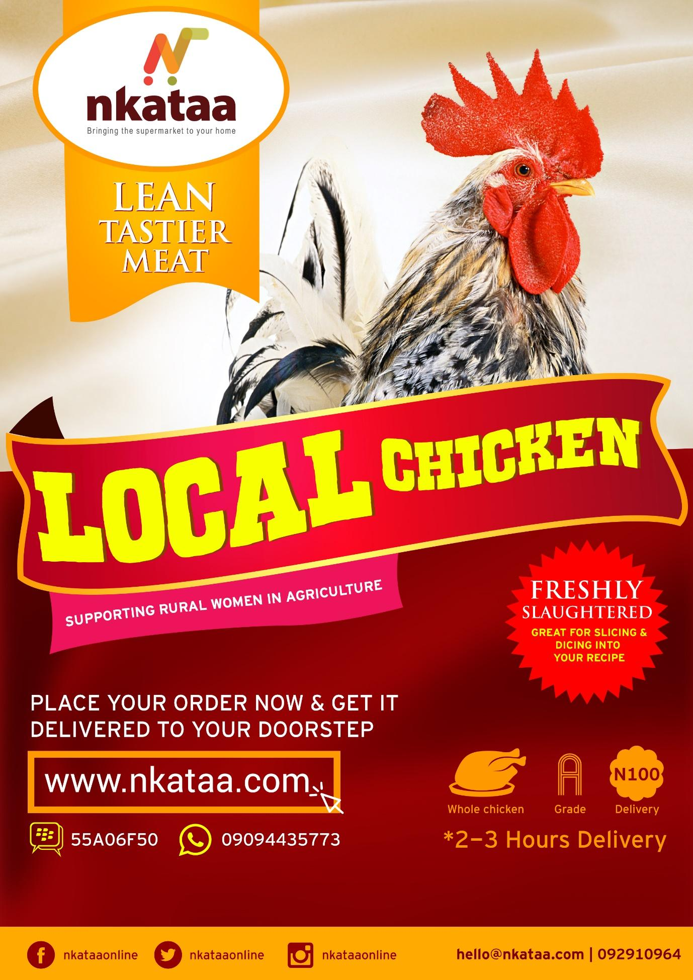 Nkaata Chicken