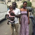 Olajumoke Orisaguna and her husband Sunday at Sujimoto 1