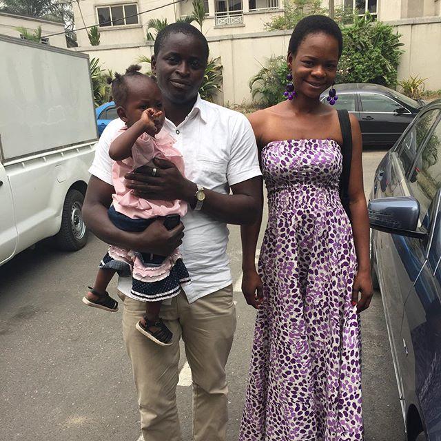 Olajumoke Orisaguna and her husband Sunday at Sujimoto 1