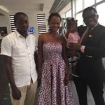 Olajumoke Orisaguna and her husband Sunday at Sujimoto 2