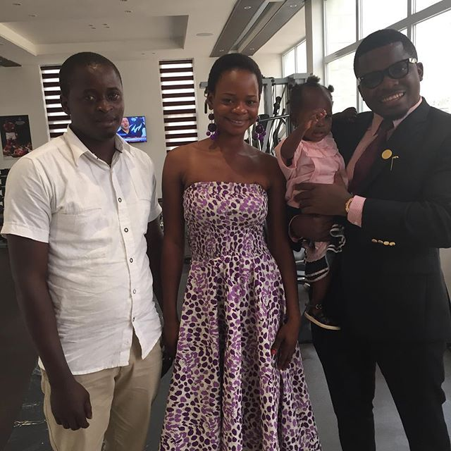 Olajumoke Orisaguna and her husband Sunday at Sujimoto 2