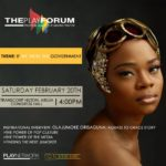 Olajumoke Orisaguna at the Play Forum in Abuja_2016