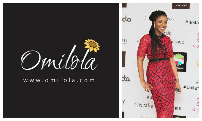 "Omilola has built a great brand! Her ""Do It Afraid"" mantra is just so apt"